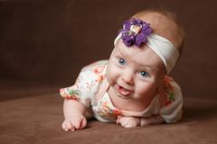 Piccolo bambino nel concetto di infanzia Fotografie Stock