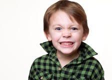 Piccolo bambino pazzo Fotografie Stock