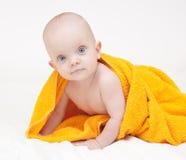 Piccolo bambino sveglio Fotografia Stock Libera da Diritti