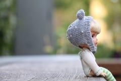 Piccolo bambole inoltre ha un cuore immagini stock libere da diritti