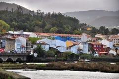 Piccolo boa spagnolo del villaggio Fotografie Stock