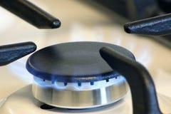 Piccolo bruciatore a gas Fotografia Stock Libera da Diritti