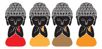 Piccolo Buddha Fotografie Stock Libere da Diritti