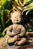 Piccolo Buddha, Tailandia, il parco Fotografie Stock Libere da Diritti