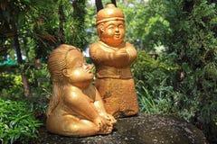 Piccolo Buddhas, Tailandia Fotografia Stock Libera da Diritti