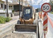 Piccolo bulldozer Fotografia Stock