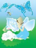 Piccolo buon fairy illustrazione di stock