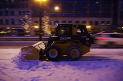 Piccolo camion con la pala Fotografie Stock Libere da Diritti