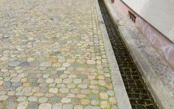 Piccolo canale a Friburgo in Brisgovia Fotografia Stock Libera da Diritti