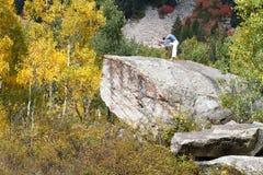 Piccolo canyon del Cottonwood Immagini Stock Libere da Diritti