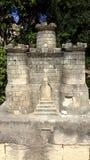 Piccolo castello di pietra fotografie stock