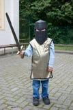 Piccolo cavaliere Fotografie Stock Libere da Diritti