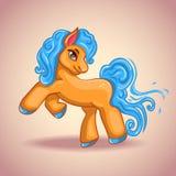 Piccolo cavallo del fumetto sveglio royalty illustrazione gratis