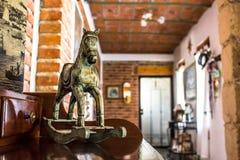 Piccolo cavallo a dondolo Fotografia Stock Libera da Diritti