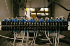 Piccolo cavo elettrico fotografia stock libera da diritti