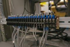 Piccolo cavo elettrico immagine stock libera da diritti