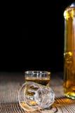 Piccolo colpo del whiskey Fotografia Stock Libera da Diritti