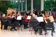 Piccolo concerto di musica classica immagine stock
