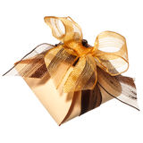 Piccolo contenitore di regalo fotografia stock