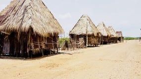 Piccolo countriside del villaggio immagini stock libere da diritti