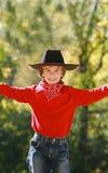 Piccolo cowboy immagini stock