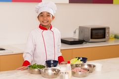 Piccolo cucina Immagine Stock