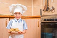 Piccolo cuoco fotografia stock