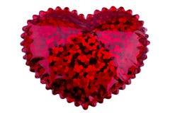 Piccolo cuore rosso Fotografia Stock
