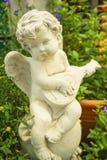 Piccolo cupido felice Fotografie Stock