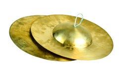 Piccolo Cymbal tailandese fotografia stock
