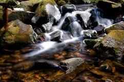 Piccolo dettaglio della cascata Fotografia Stock Libera da Diritti