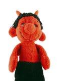 Piccolo diavolo - burattino di mano Fotografia Stock