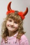 Piccolo diavolo sveglio Fotografie Stock