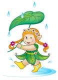 Piccolo elfo Immagini Stock