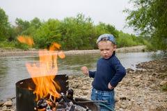 Piccolo esplora Fotografie Stock Libere da Diritti