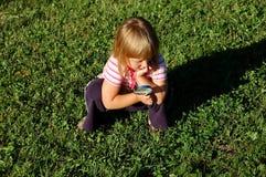 Piccolo esploratore Fotografie Stock