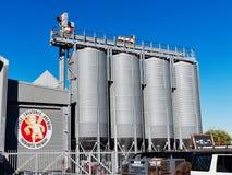 Piccolo fabbrica di birra delle creature, Fremantle, Australia occidentale immagini stock