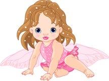 Piccolo Fairy sveglio Immagine Stock
