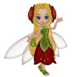 Piccolo fairy sveglio Fotografie Stock Libere da Diritti