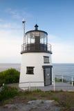 Piccolo faro della collina del castello a Newport, Rhode Island, U.S.A. Immagini Stock Libere da Diritti