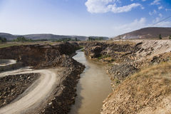 Piccolo fiume Immagine Stock Libera da Diritti
