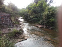 Piccolo fiume fotografie stock libere da diritti