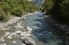 Piccolo fiume francese Immagini Stock