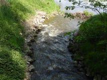 Piccolo fiume in germany-2 fotografia stock libera da diritti