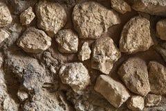 Piccolo fondo delle pietre del primo piano Fotografie Stock Libere da Diritti