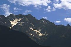 Piccolo ghiacciaio Fotografia Stock
