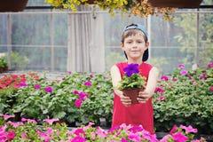 Piccolo giardiniere fotografia stock libera da diritti