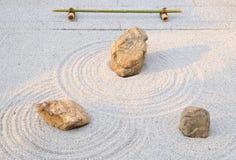 Piccolo giardino di roccia; Tempiale di Yougen-ji, Kyoto, Giappone Immagini Stock