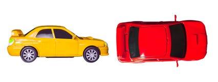 Piccolo giocattolo dell'automobile fotografie stock libere da diritti