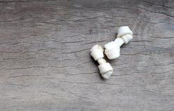 Piccolo giocattolo delle ossa di cane Fotografia Stock Libera da Diritti